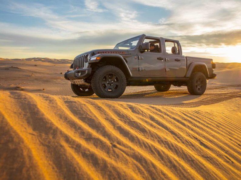 2020 Jeep Gladiator Mojave 4×4 Desert Badge