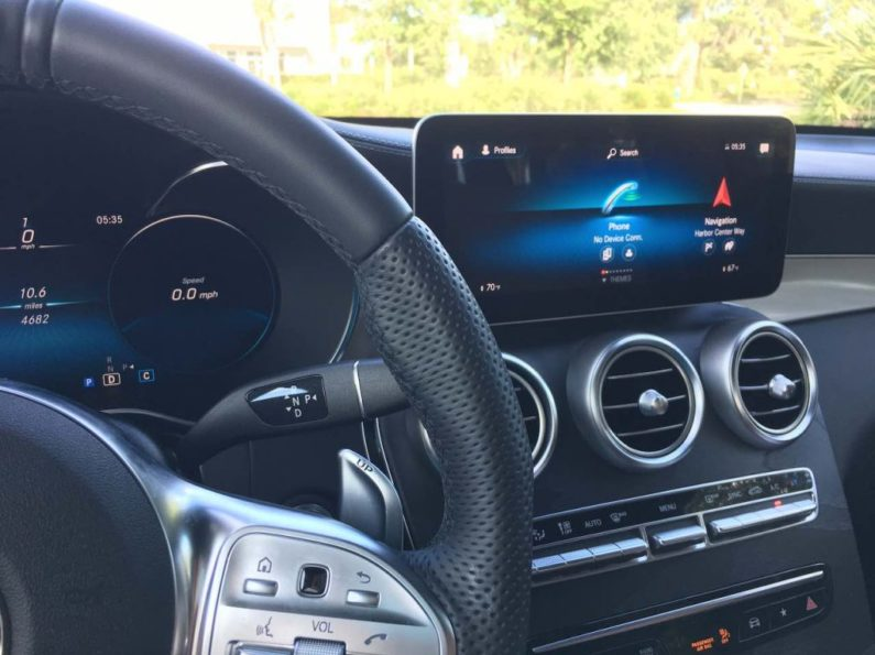 2020 MB AMG GLC43 SUV with MBUX Infotainment only $59K
